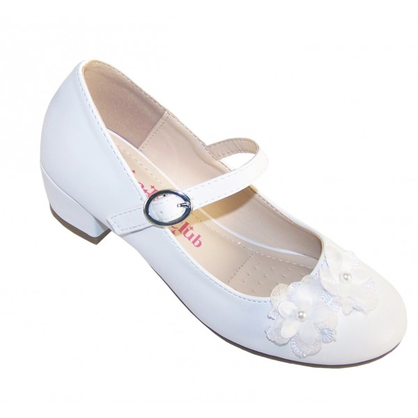 Buy Girls White Wedding Shoes | Low